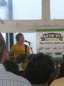 Vivian Girls at SXSW 2009